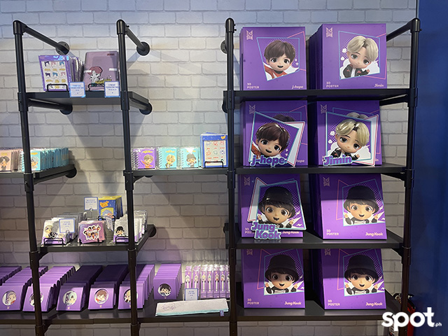 BTS stationery, knicknacks and accessories