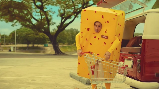 deadpan cheese loading some groceries