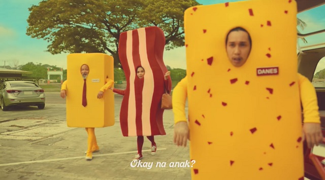 Danes Cheese commercial