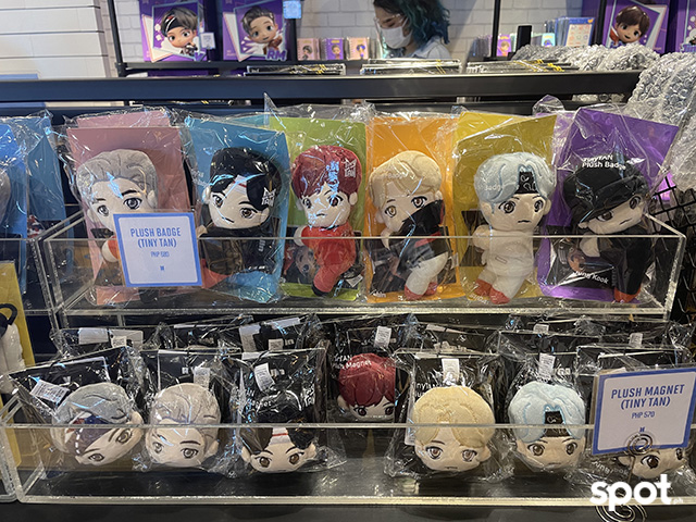 BTS plush badge and magnets