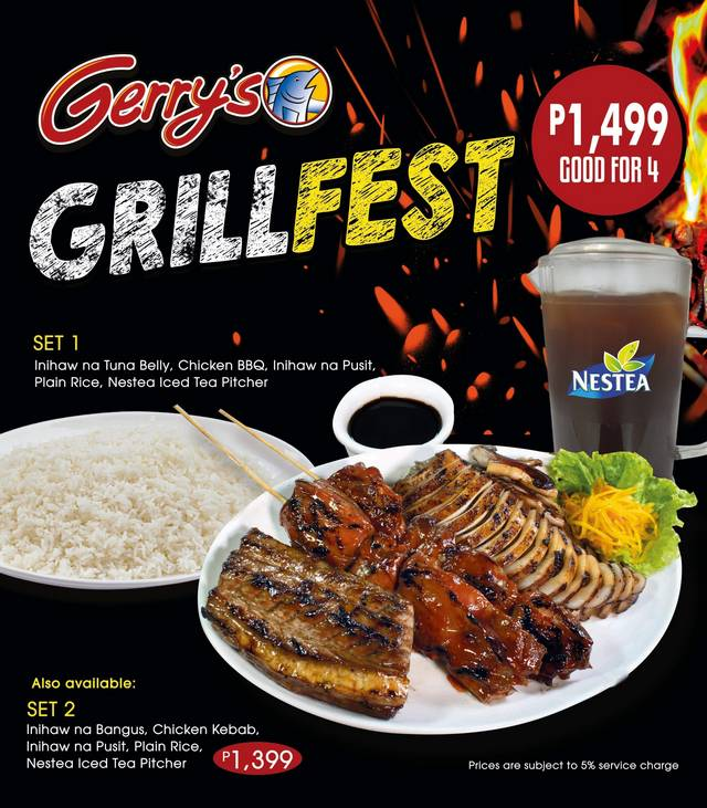 Grillfest Promo at Gerry's Grill