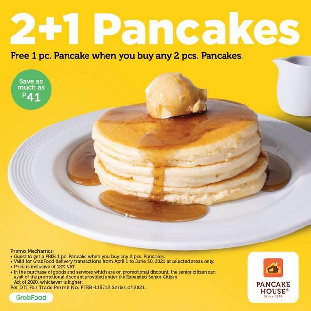 Pancake House 2+1 Pancake Promo