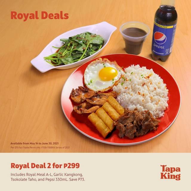 Tapa King Royal Deals Promo
