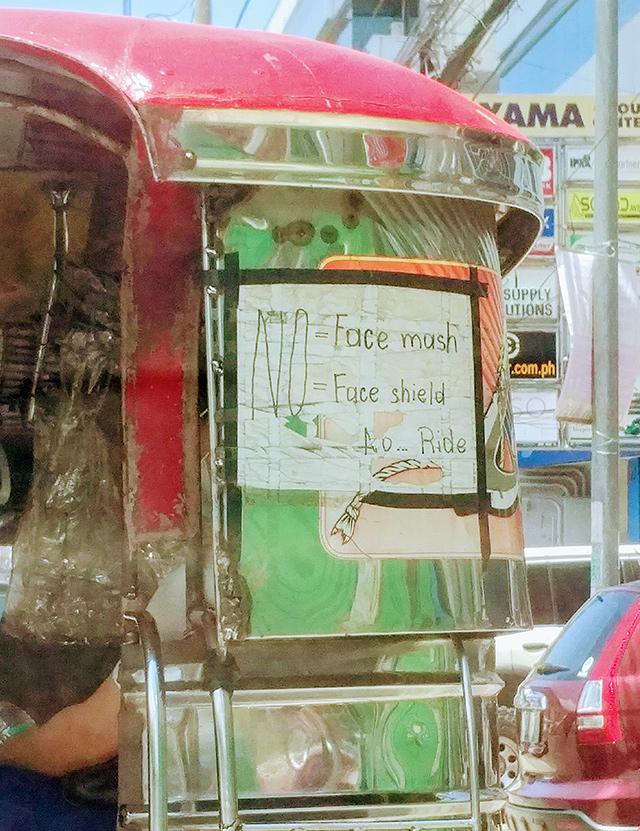Random Photo of the Week: Jeepney no face mash banner