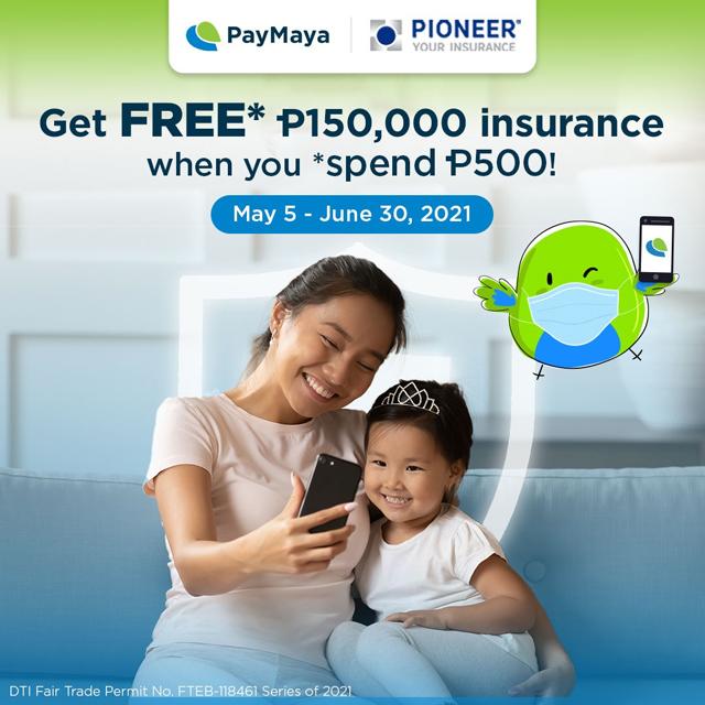 PayMaya COVID-19 health insurance