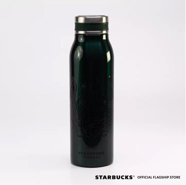 Starbucks Summer Siren Collection: Summer Siren Stainless Steel Daisy Water Bottle