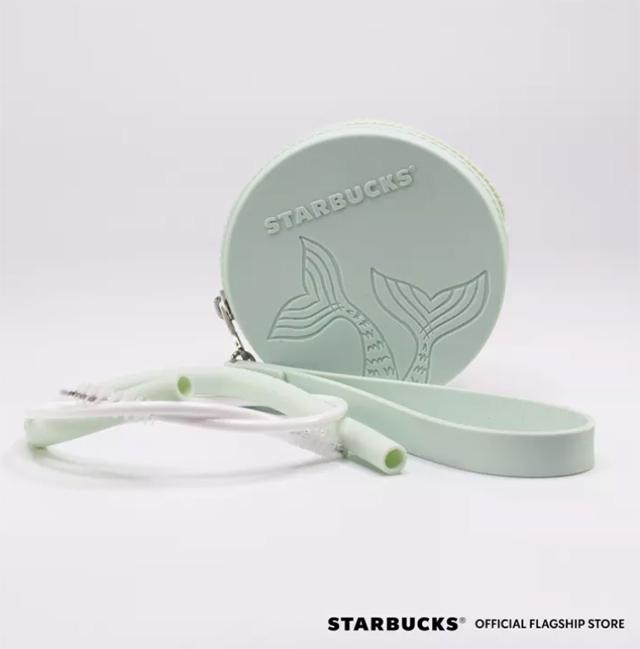 Starbucks Summer Siren Collection: Summer Siren Green Straw Set