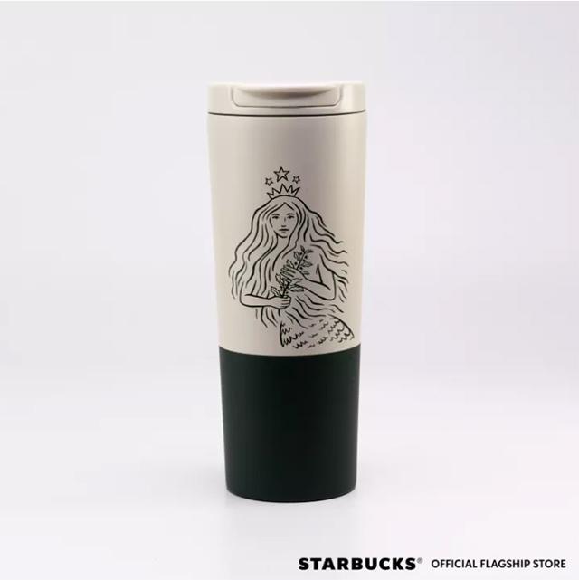 Starbucks Summer Siren Collection: Summer Siren Stainless Steel Victoria White Tumbler