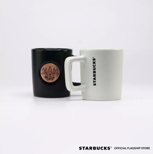 Starbucks Summer Siren Collection: Summer Siren Badge Mugs