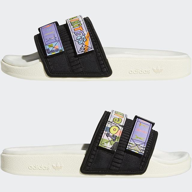 Adidas Love Unites Collection 2021: Adilette 2.0 Pride Slides