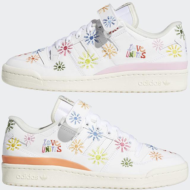 Adidas Love Unites Collection 2021: Forum Low Pride Shoes