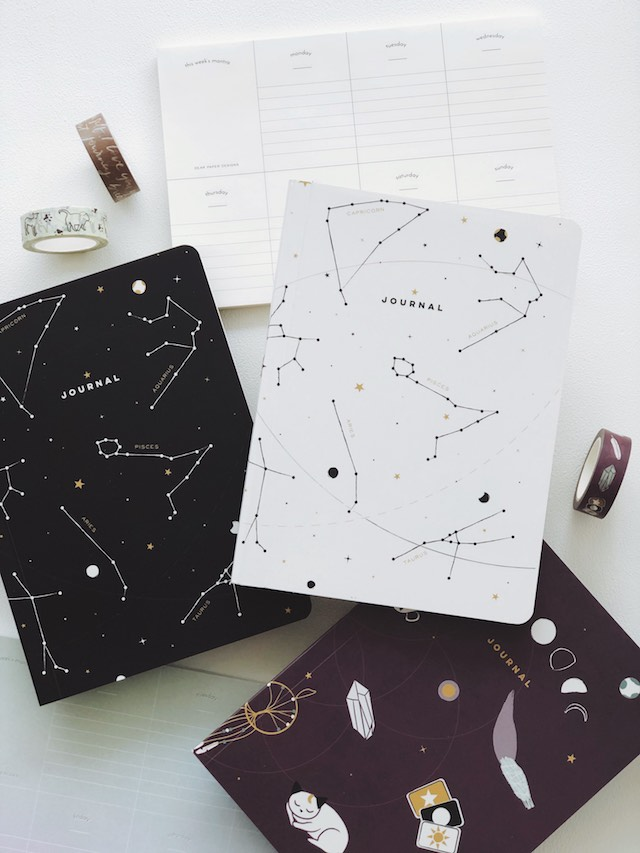 Cebu shopping finds: Mystic and White Dot Grid Notebook from Dear Paper