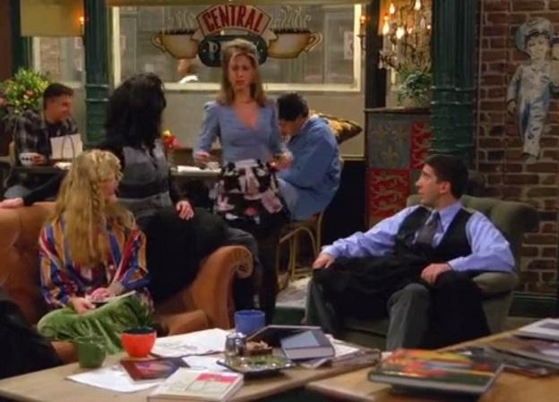 Jennifer Aniston, Courtney Cox, David Schwimmer and Lisa Kudrow