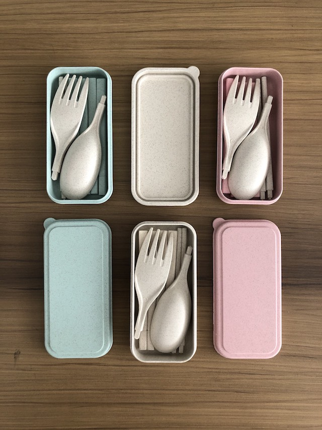 Cebu shopping finds: Portable Cutlery Set from Grain