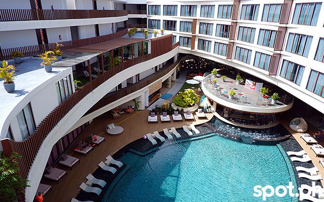 Hue Hotels and Resorts Boracay swimming pool