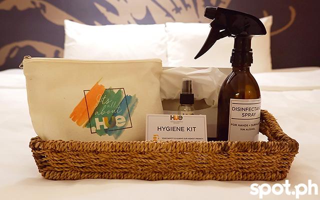 Hue Hotels and Resorts Boracay hygiene kit