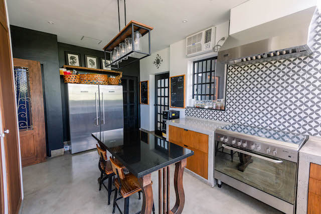 The Presello House farmhouse-inspired kitchen