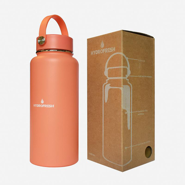 filipino insulated tumbler brand: Hydro Fresh Stainless Steel Tumbler With Handle from Surplus