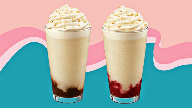 Starbucks Choux Cream Frappuccinos