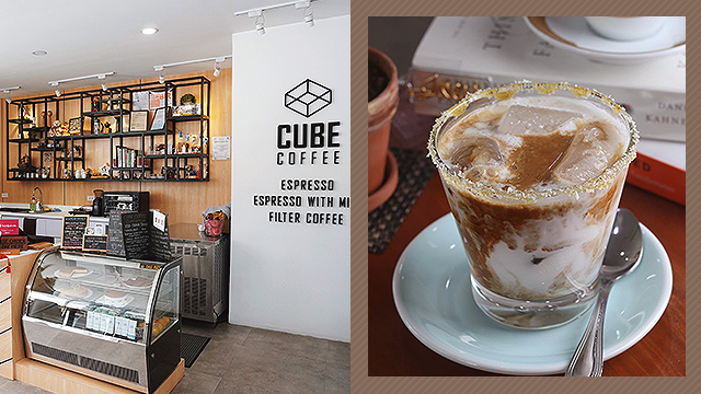 Iced Coconut Latte from Cube Coffee