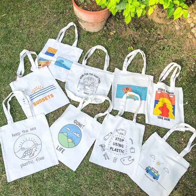 Cebu shopping finds: Tote Bags from Guhit