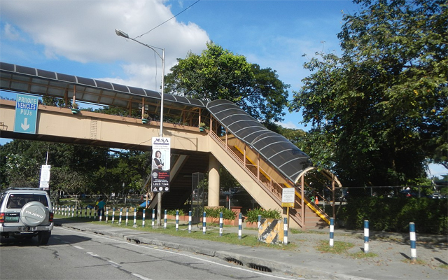 Katipunan Avenue in QC overpass