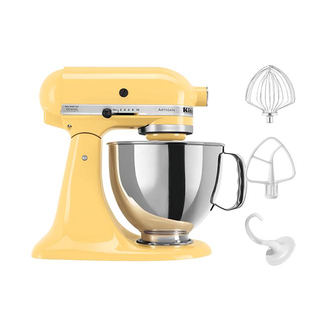 KitchenAid 5Qt Artisan Stand Mixer in Yellow