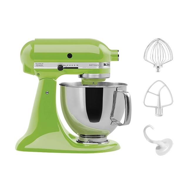 KitchenAid 5Qt Artisan Stand Mixer in Green Apple