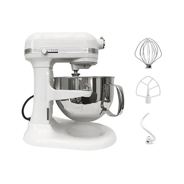 KitchenAid 6Qt Artisan Stand Mixer in White
