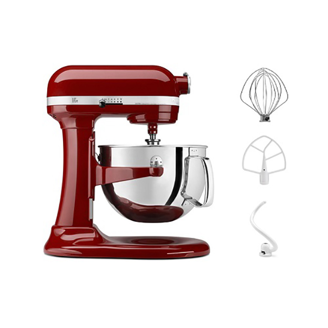 KitchenAid 6Qt Artisan Stand Mixer in Empire Red
