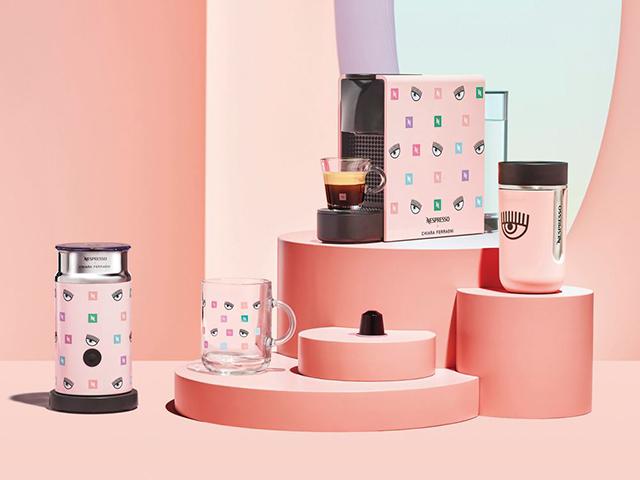 Nespresso x Chiara Ferragni Collection