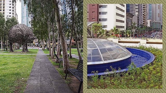 pedestrian-friendly spots in Metro Manila
