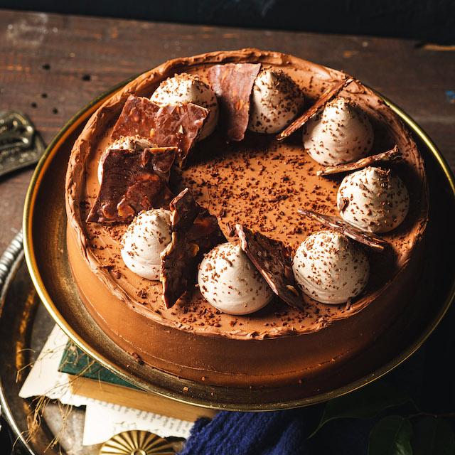 Mary Grace Café and Auro Chocolate Dark Chocolate Cheesecake collaboration