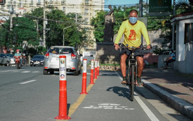 San Juan bike lane