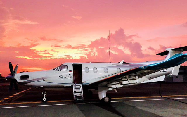 Crimson Resort and Spa Boracay partnered with private flight company Airtaxi.ph