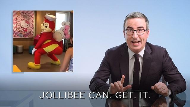 John Oliver and Jollibee