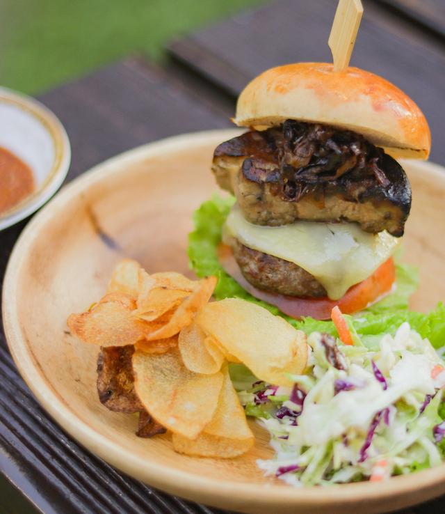 Sofitel Manila's Foie Gras Cheeseburger Sliders