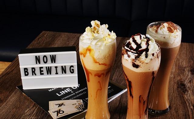 cinema '76 café frappe beverages