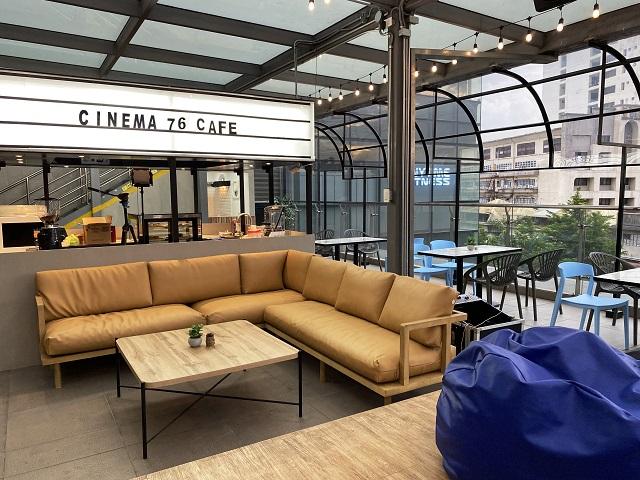 cinema '76 café interior