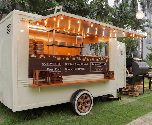 The Food Truck is located right beside Sofitel's Sunset Bar