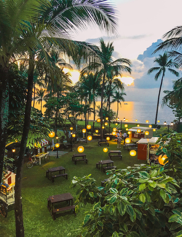 Sofitel Manila chill outdoor setting