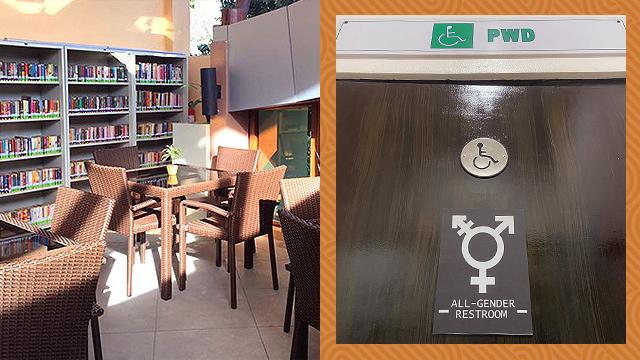 QC all-gender restroom