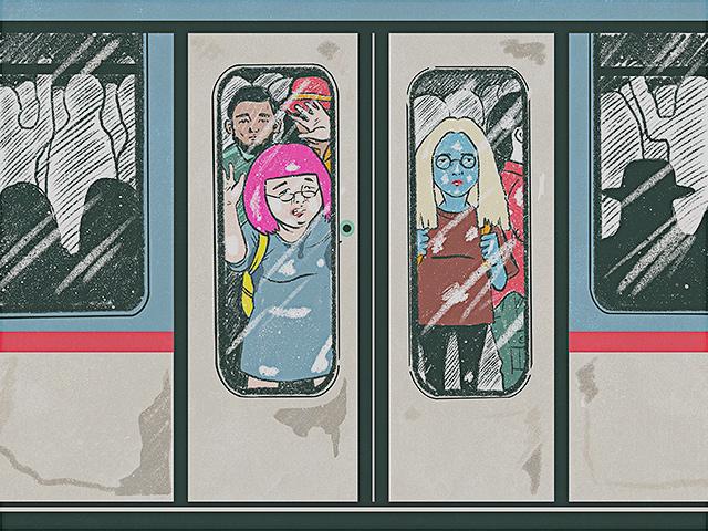 commuting in Metro Manila