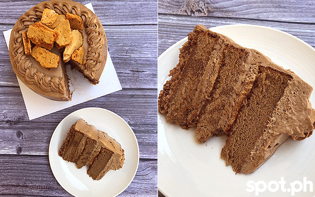 Sucre PH Espresso Honeycomb Cake