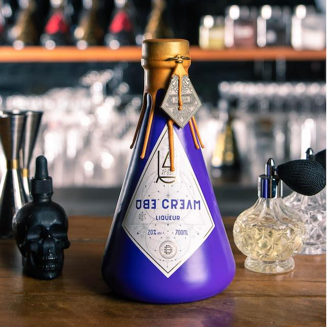 Agimat at Ugat Foraging Bar and Kitchen Ube Cream Liqueur