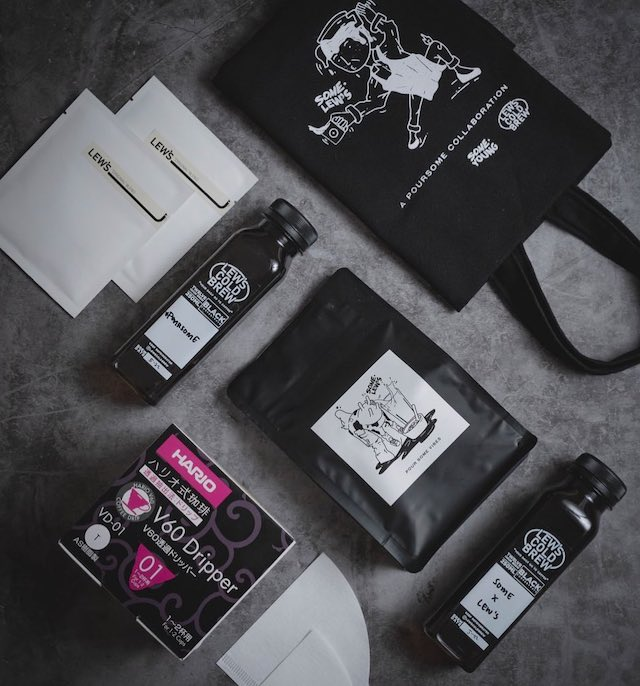 #POURSOME Coffee + Cocktails Kit by Some Young x Lew's Cold Brew