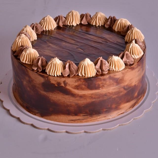 Malagos Triple Treat Cake by Max's Corner Bakery