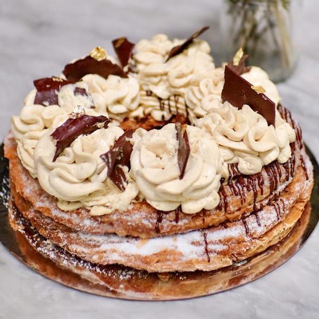 Irish Cream Coffee Cronut Cake by Wildflour