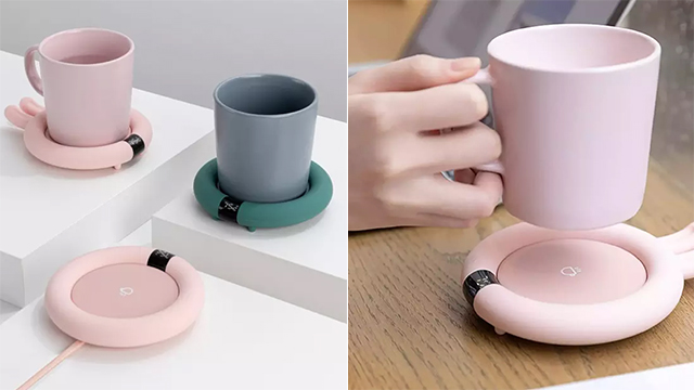 Smart Touch Heating Coasters from Urallife