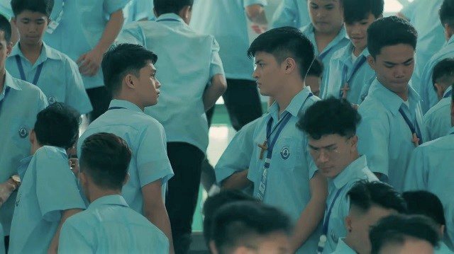 Boys' Love: Adrian Lindayag and Keann Johnson in The Boy Foretold by the Stars